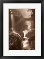 Framed Waterfall on a Rainy Day