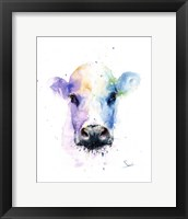 Framed Abstract Cow