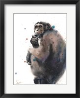 Framed Chimpanzee