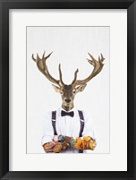Framed Deer Man