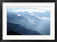 Framed Himalayan Mountains