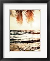 Framed Night Beach
