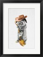 Framed Rabbit Farmer