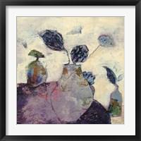 Framed Still Life in Lilac