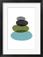 Framed Modern Stones