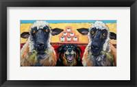 Framed Ewe Dog Ewe