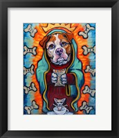 Framed Our Lady of Perpetual Dog Biscuits