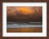 Framed Shoreline Gold