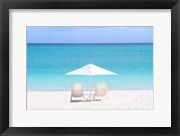 Framed Turks and Caicos Island