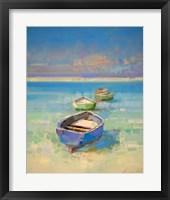 Framed Caribbean Beach