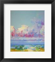 Framed Purple Clouds