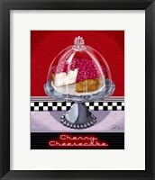 Framed Cherry Cheesecake