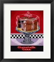 Framed Chocolate Cake