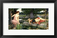 Framed Echo and Narcissus, 1903