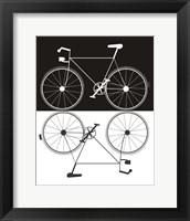 Framed Two Bikes