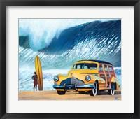 Framed Buttercup Buick