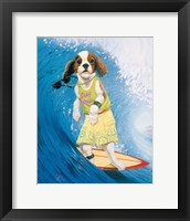 Framed Surf Dawg