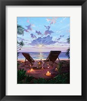 Framed Two If by Sea