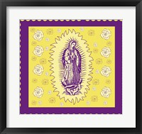 Framed Purple Mary