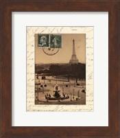 Framed Paris En Flanant