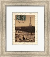 Framed Paris En Flanant