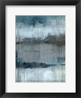 Framed Study in Blue