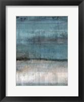Framed Study in Light Blue
