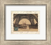 Framed Le Trocadero