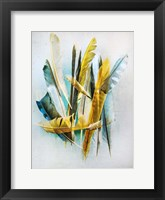 Framed Feather Study No. 2