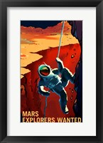 Framed Explorers Wanted