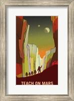 Framed Teach on Mars