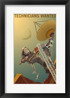 Framed Technicians Wanted
