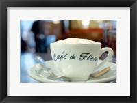 Framed Cafe de Flore
