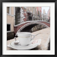 Framed Canal Espresso Bar Guiseppi