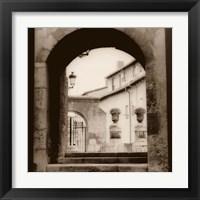 Framed Courtyard in Burgos