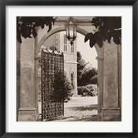 Framed Giardino Mortola