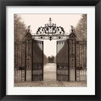 Framed Hampton Gate