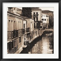 Framed Ponti di Venezia No. 4