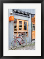 Framed Red Bicycle, Japan