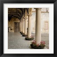 Framed Villa Portico No. 1