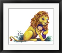 Framed Sweet Lion