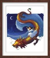 Framed Dragon Girl