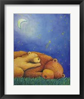 Framed Goodnight Bear