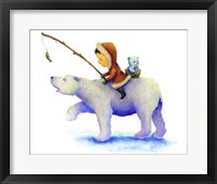 Framed Polar Bear Boy