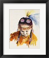 Framed First Nations Powwow Princess