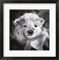 Framed Polar Bear Cub