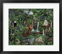 Framed Enchanted Jungle