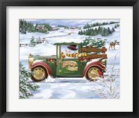 Framed Snowman Delivery