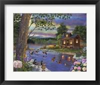 Framed Peace River