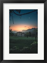 Framed Quiet Twilight
